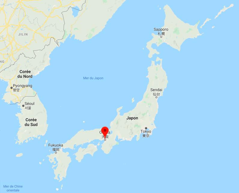 carte Osaka