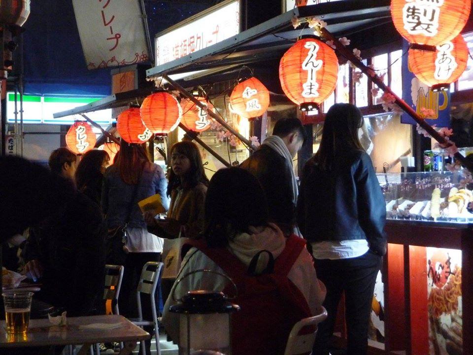 Street food, Osaka