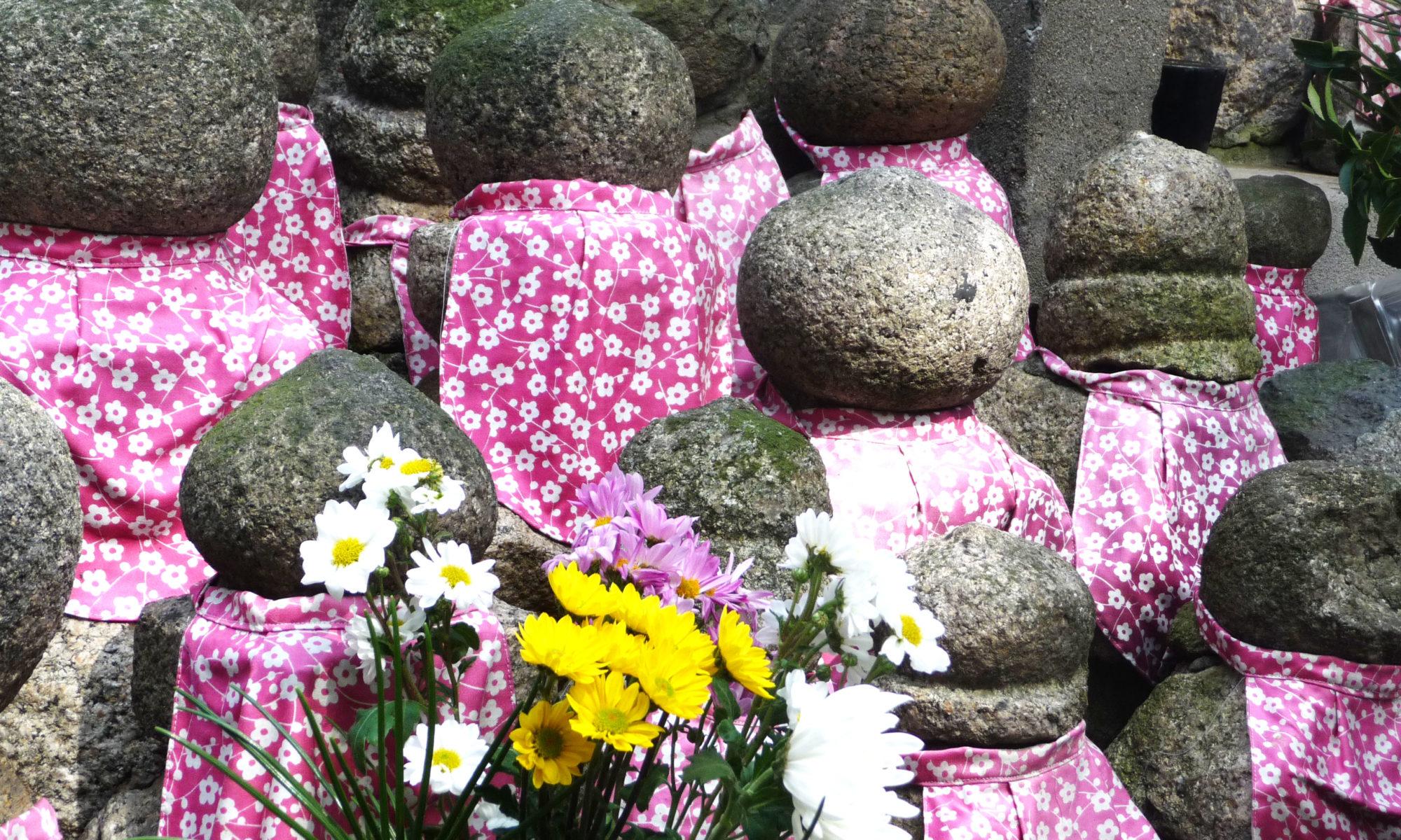 Sculptures temple; Osaka