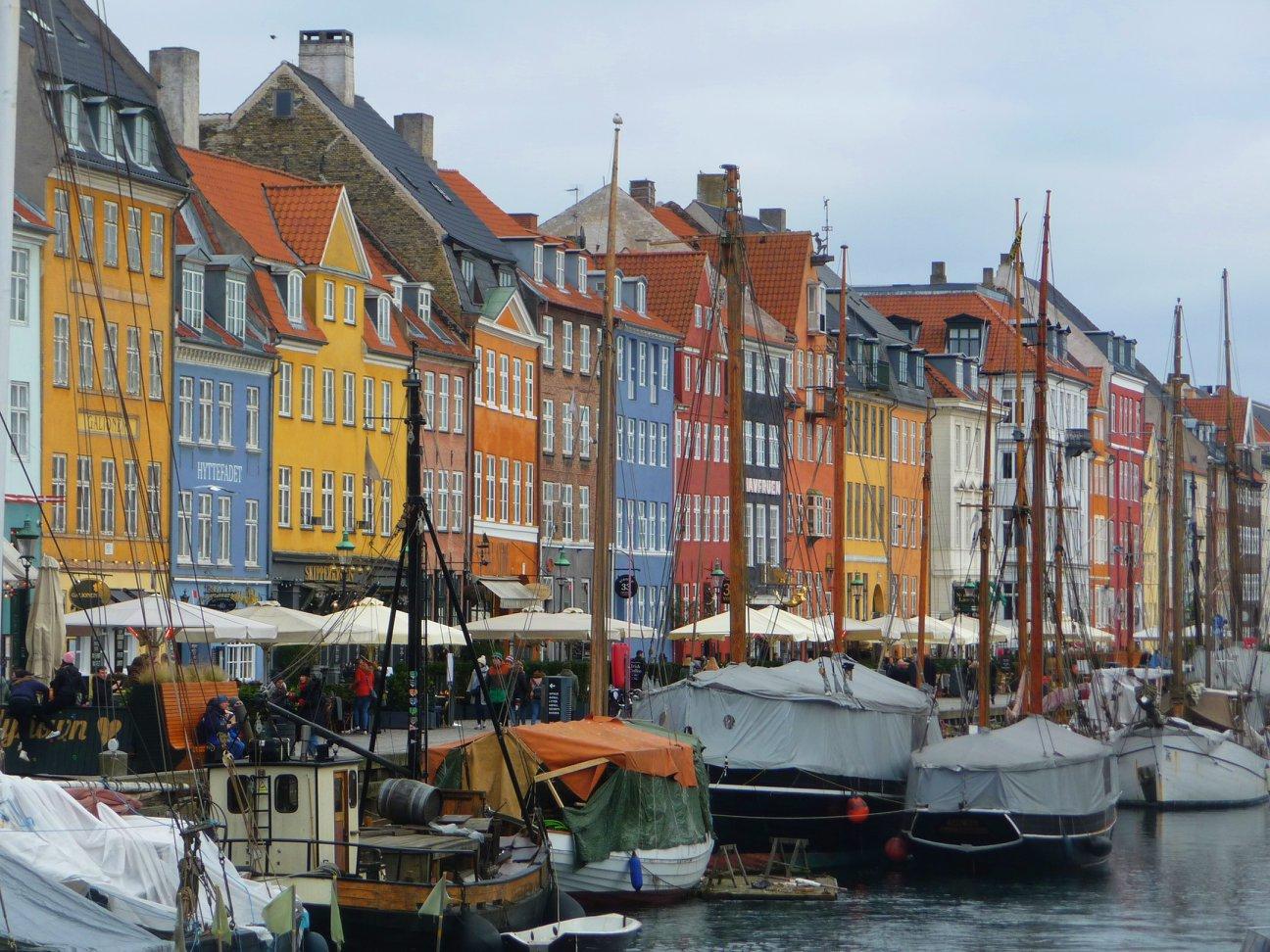 Nyhavn, le vieux port, Copenhague