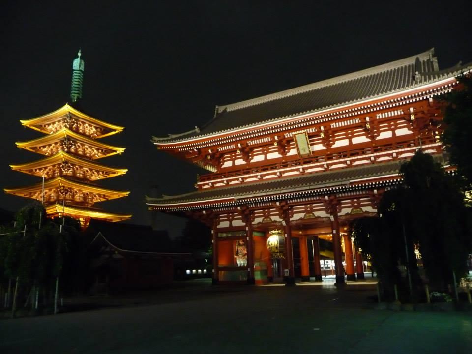 Tokyo, Asakusa, Senso-ji Temple