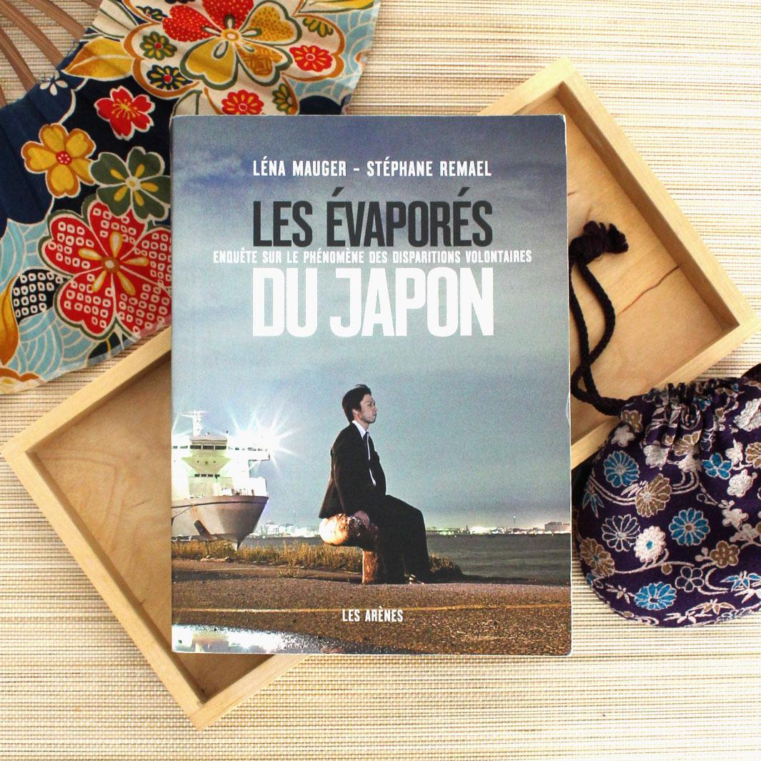 Les évaporés du Japon, Lena Mauger, Stéphane Remael, éditions les Arènes