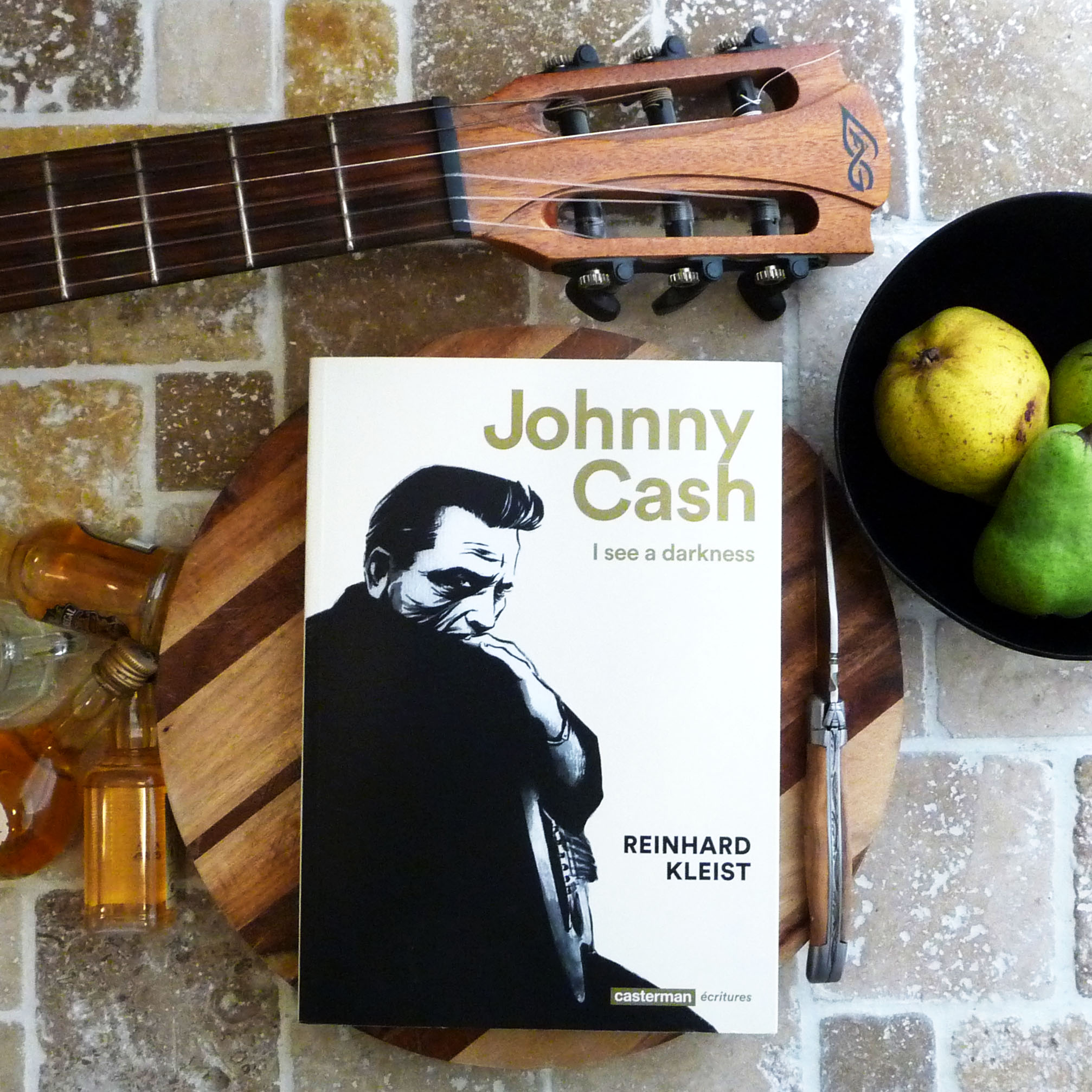 Johnny Cash, I see a darkness, Reinhard Kleist, Casterman