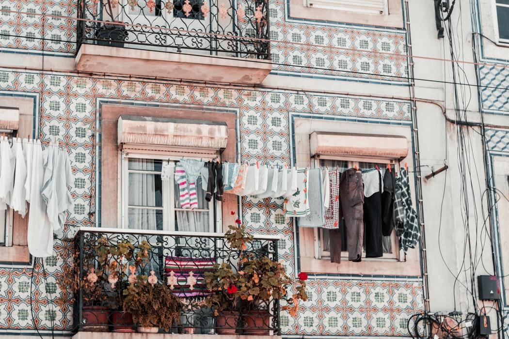 Immeuble Portugal, Azulejos