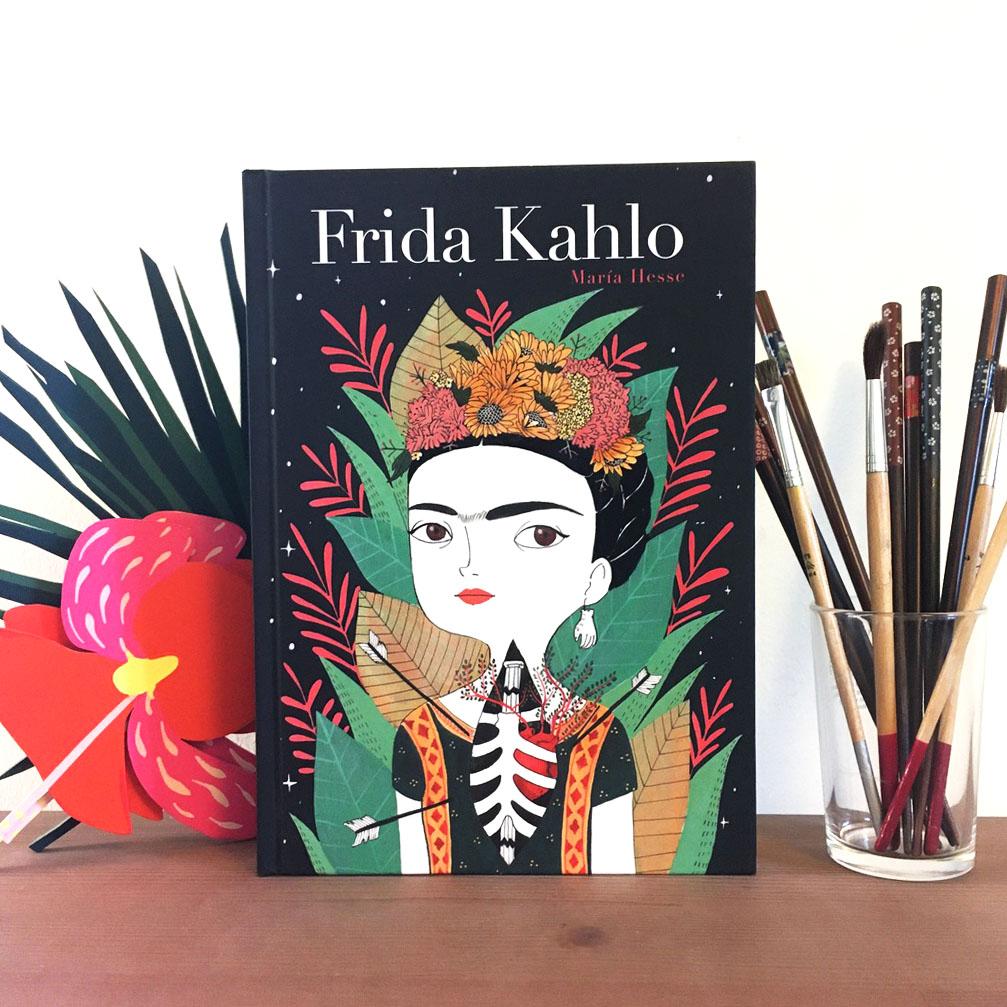 Frida Kahlo, Maria Hesse, éditions Presque Lune