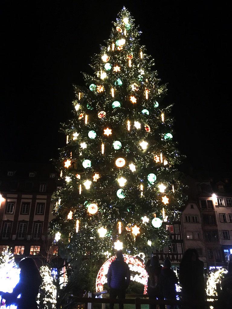 Sapin de Noël, Strasbourg