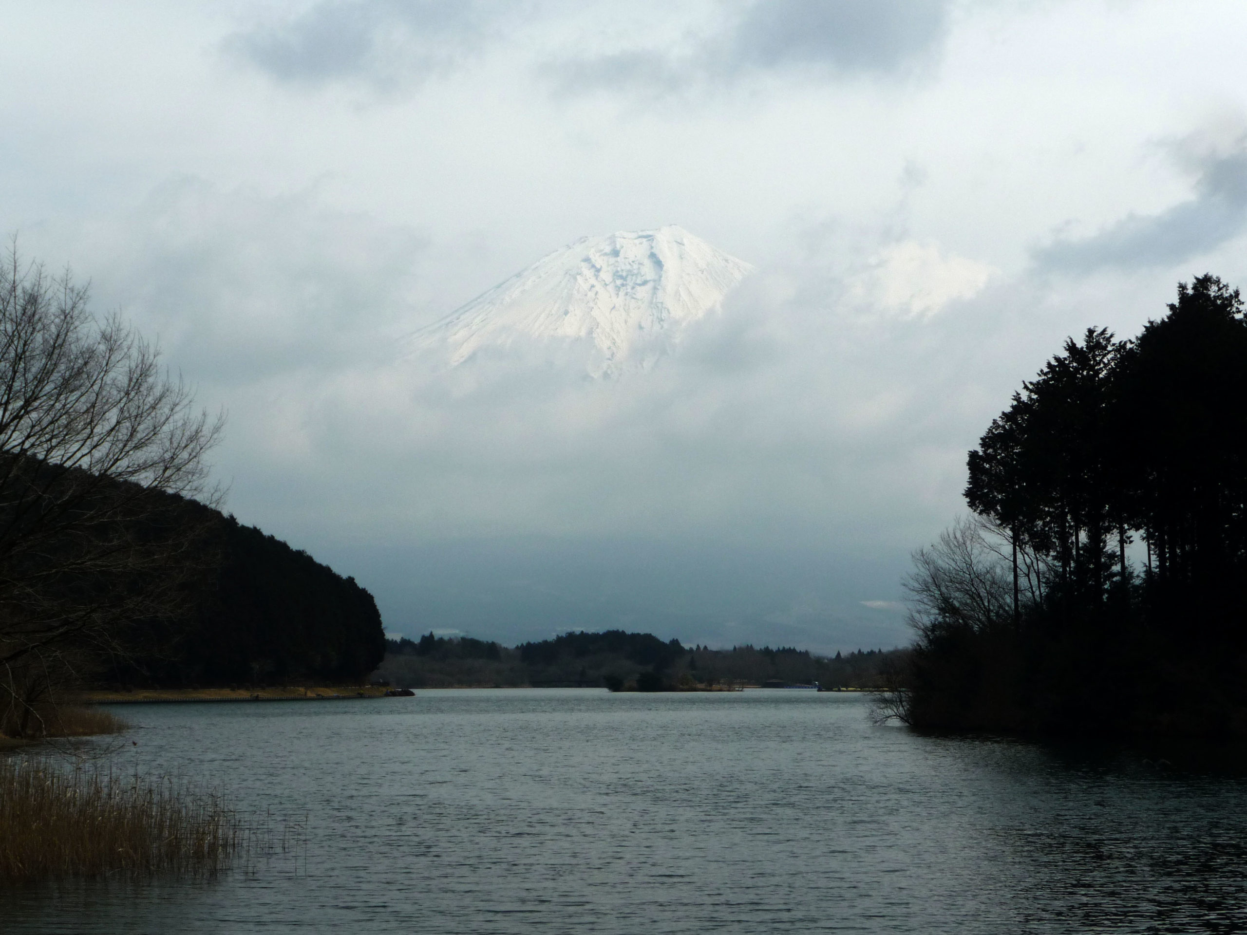 Lac Tanuki, Mont Fuji, Japon