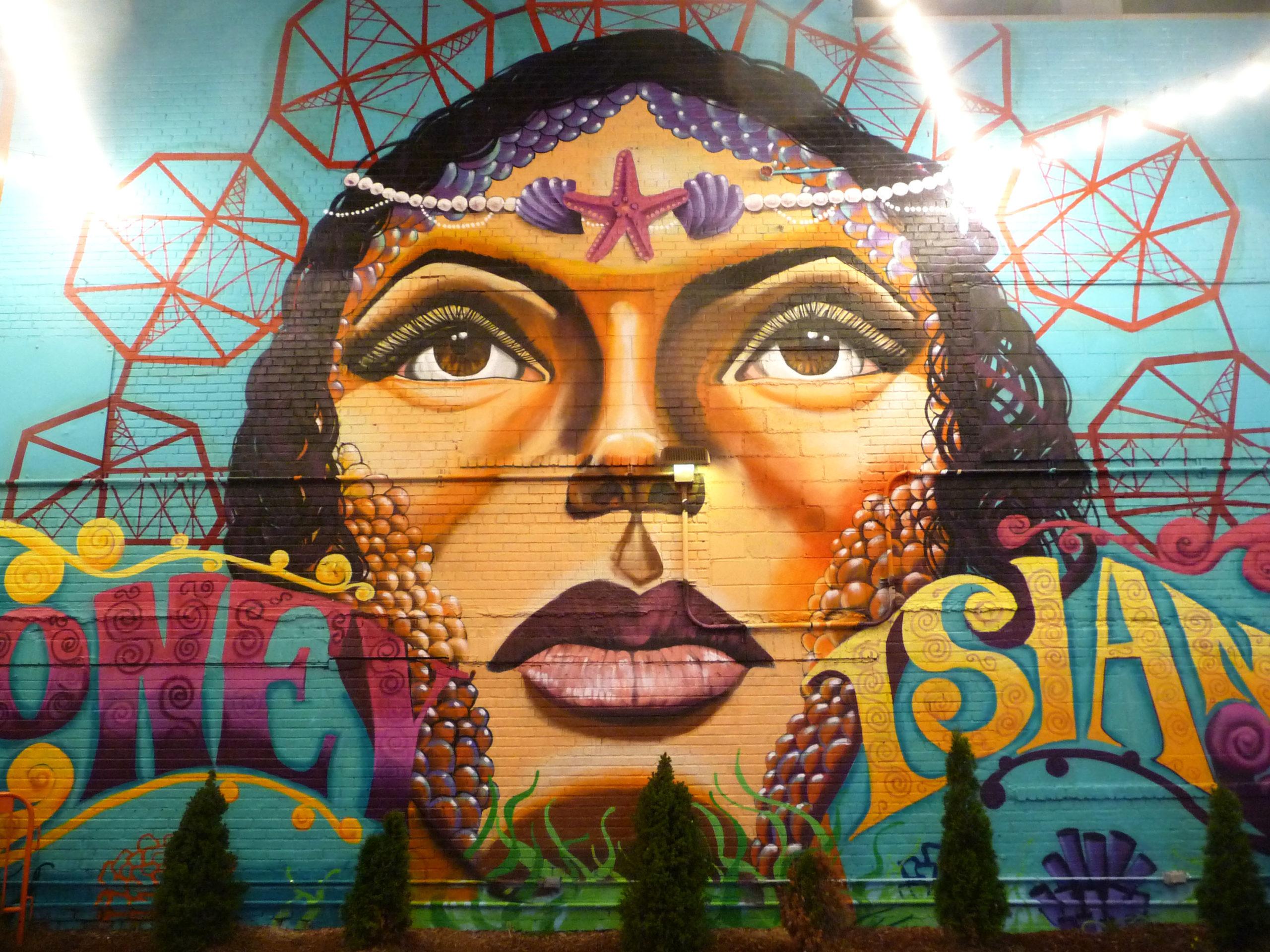 Street-art Coney Island, Danielle Mastrion
