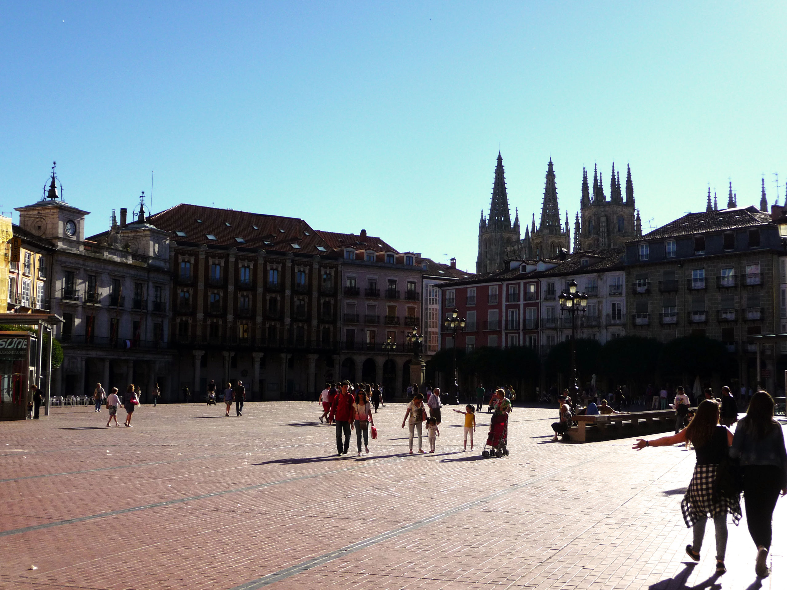 Grande place, Burgos, Espagne