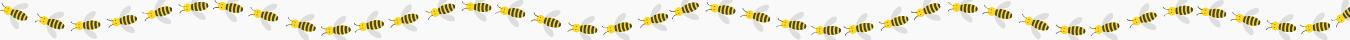 Bandeau abeilles droite
