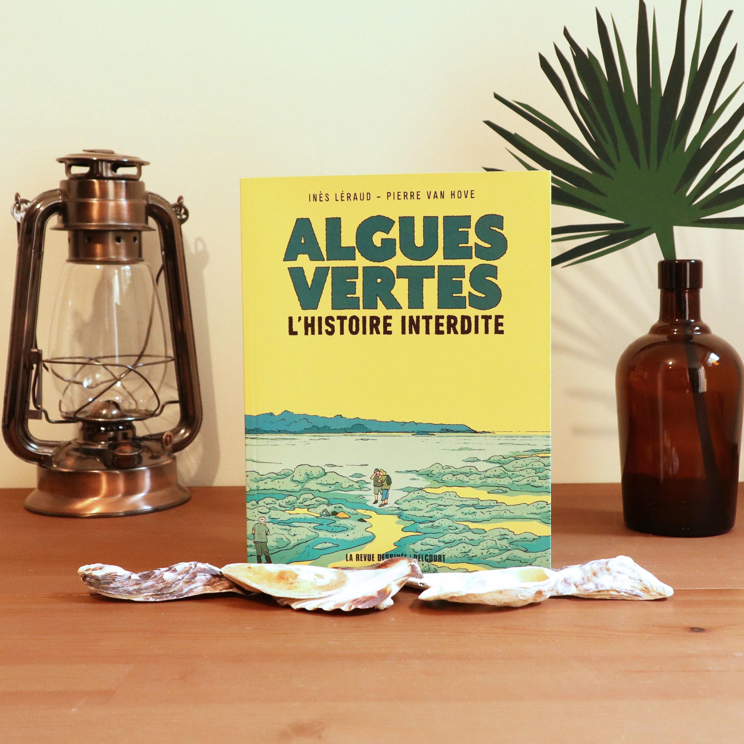 Algues vertes, l'histoire interdite d'Inès Léraud et Pierre Van Hove, éditions La revue dessinée Delcourt
