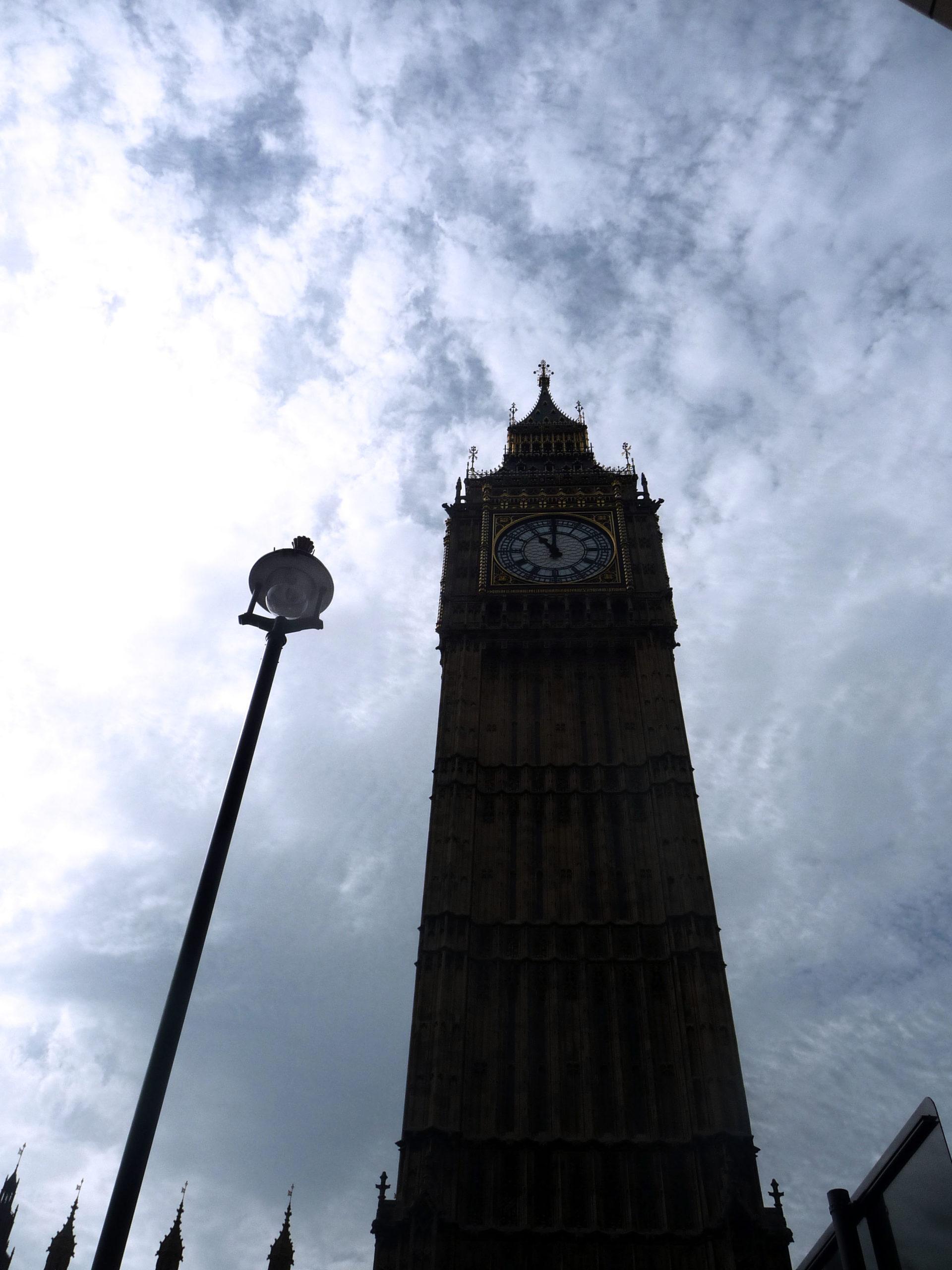 Lampadaire Big Ben, Londres