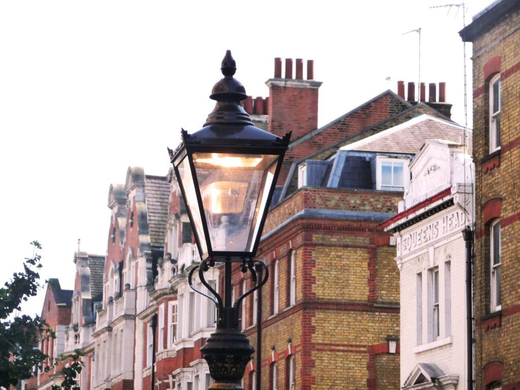 Lampadaire, Londres