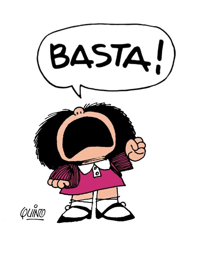Mafalda, Basta