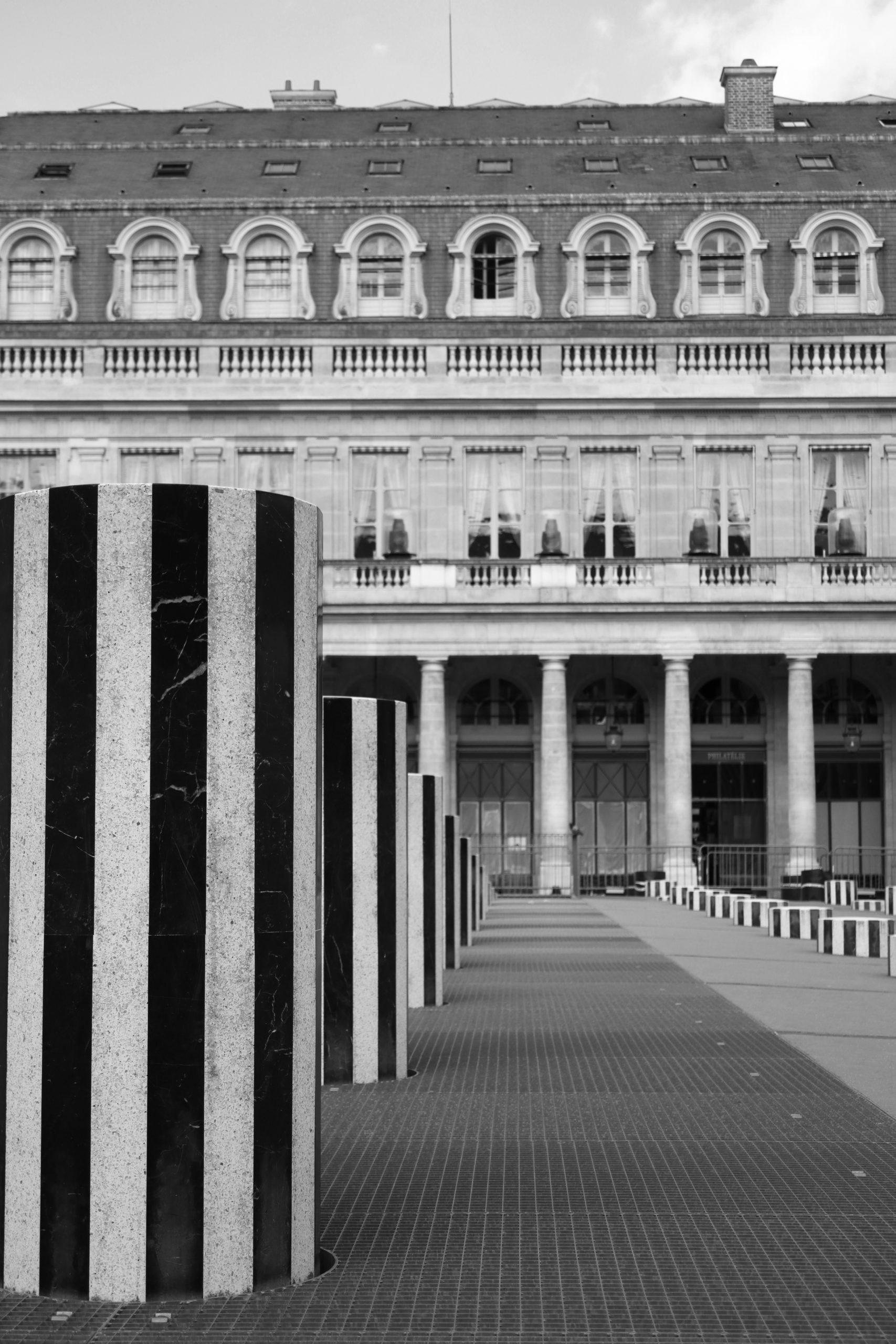Palais-Royal, Colonnes de Buren, Paris