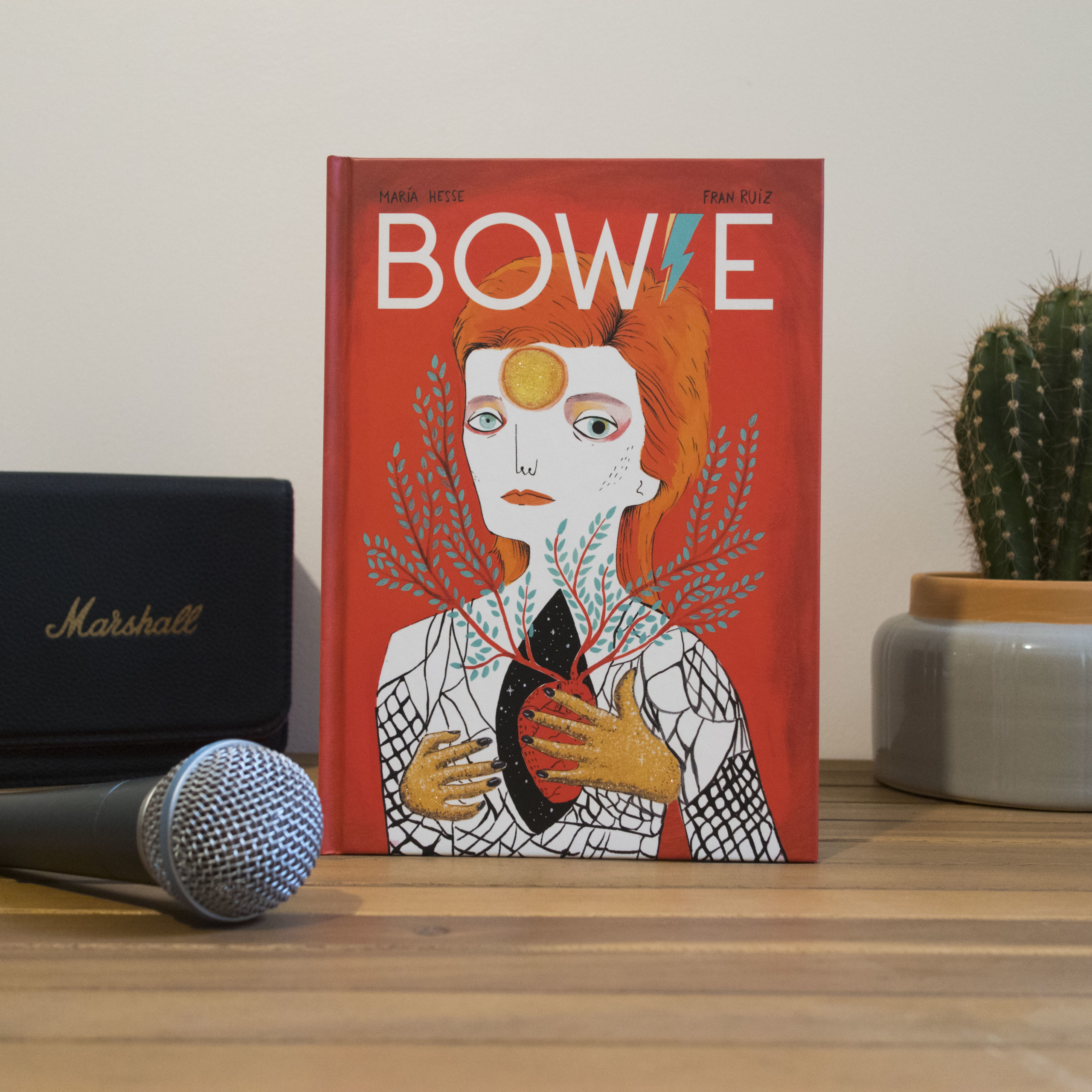 David Bowie Maria Hesse, Fran Ruiz, éditions Presque Lune